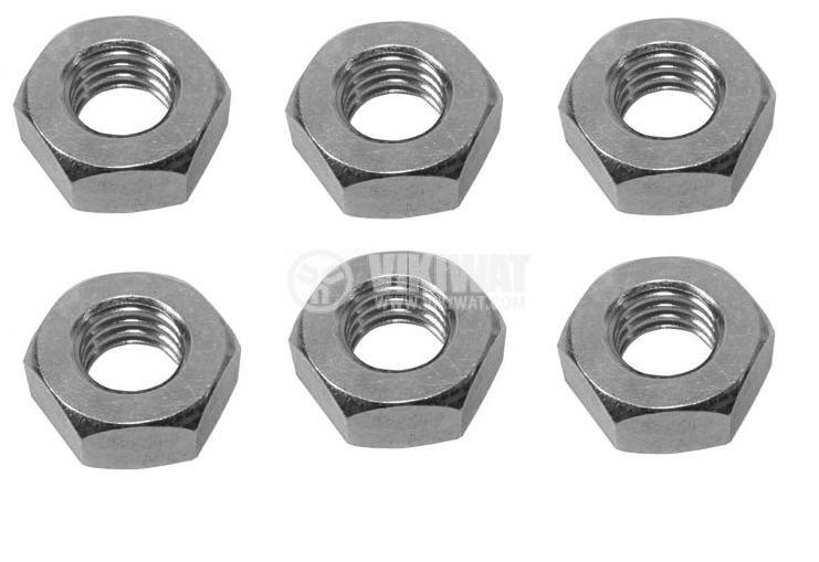 Гайка, метална, М20mm, М18mm, М14mm, М10mm, М8mm