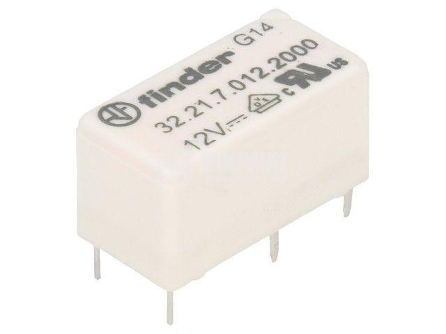 Реле електромагнитно 32.21.7.012.2000, бобина 12VDC, 15A, 250VAC, SPDT