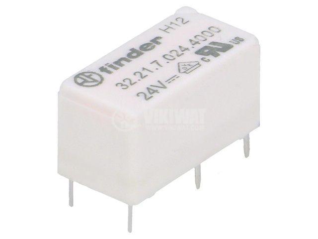 Реле електромагнитно 32.21.7.024.4000, бобина 24VDC, 15A, 250VAC, SPDT