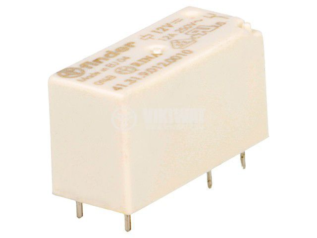 Реле електромагнитно 41.31.9.012.0010, бобина 12VDC, 25A, 250VAC, SPDT