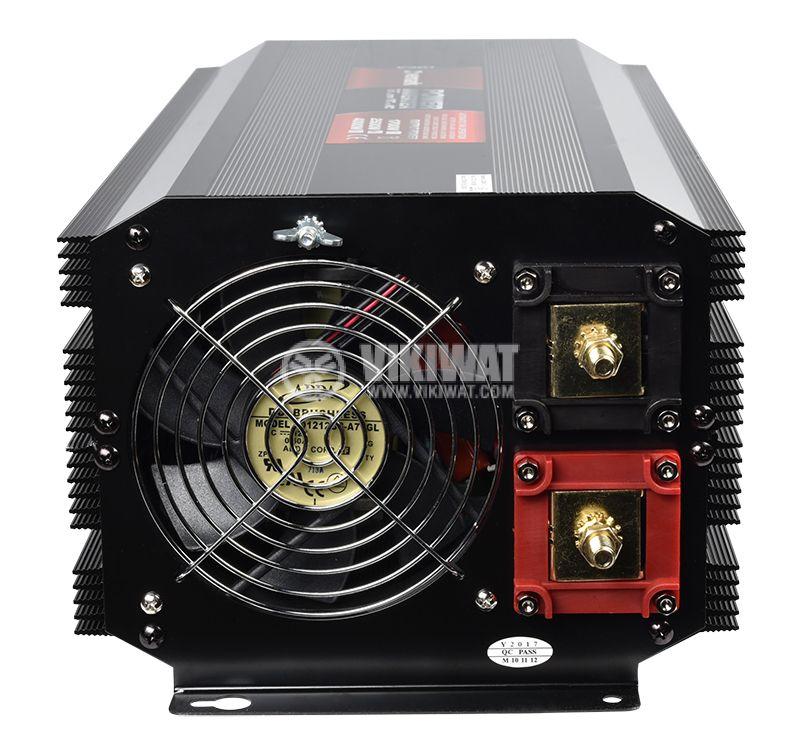 Инвертор A301-2500-24, 24VDC-220VAC, 2500W, модифицирана синусоида - 4