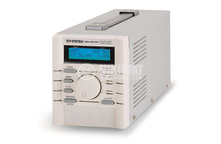 DC импулсен програмируем лабораторен захранващ блок PSH-3610A, 10 A, 36 V, 1 канал, 360 W