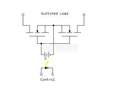 Солид стейт реле, SSR-10AA, полупроводниково, 200-450VAC, товароносимост 10A/480VAC - 3