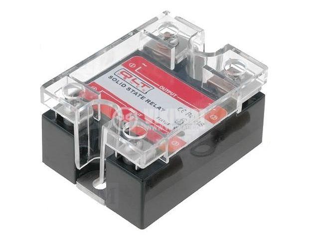 Солид стейт реле, SSR-10AA, полупроводниково, 200-450VAC, товароносимост 10A/480VAC - 1