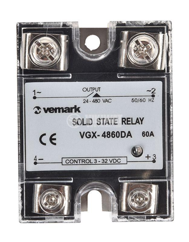 Relay VGX-4860DA 3-32V 60A/480V - 2