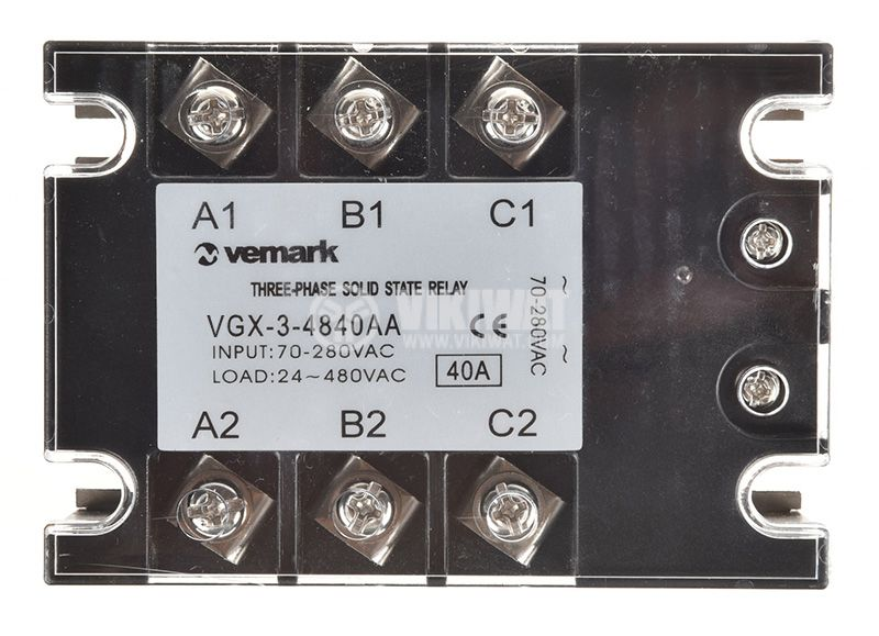 Solid State Relay VGX-3-4840AA