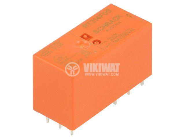 Реле електромагнитно 8-1393239-5, бобина 5VDC, 16A, 250VAC, SPDT