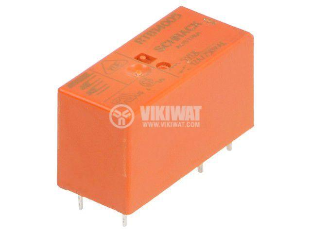 Реле електромагнитно 1-1393238-2, бобина 5VDC, 12A, 250VAC, SPDT