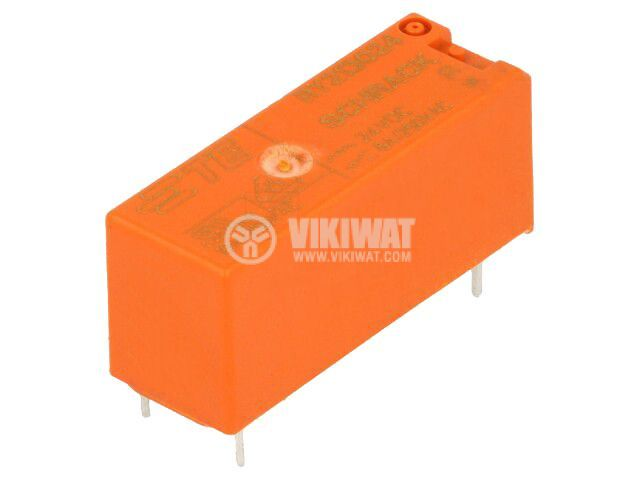 Реле електромагнитно 6-1393224-2, бобина 24VDC, 8A, 250VAC, SPDT