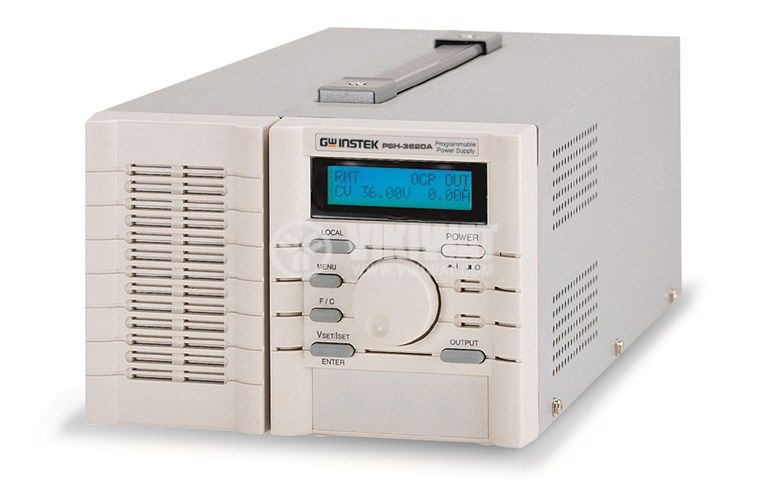 Programmable Switching DC Power Supplie PSH-3620A, 20 A, 36 V, 1 channel, 720 W