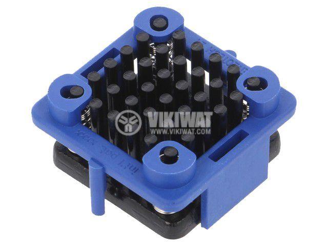 Алуминиев радиатор 902-21-2-12-2-B-0 за охлаждане, 11.6x21x21mm