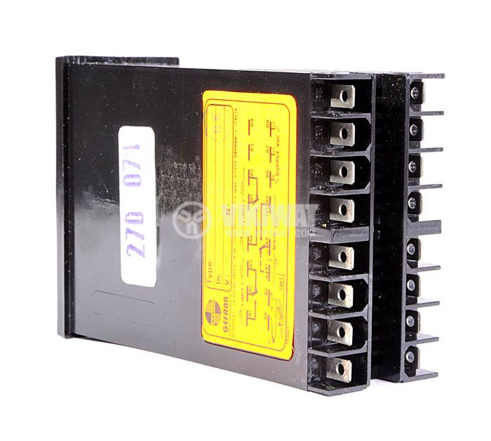 Temperature controller, GEFRAN RD88 E, 24 VAC - 48 VAC, 0 °C to 199 °C, J type, PID, relay output - 3