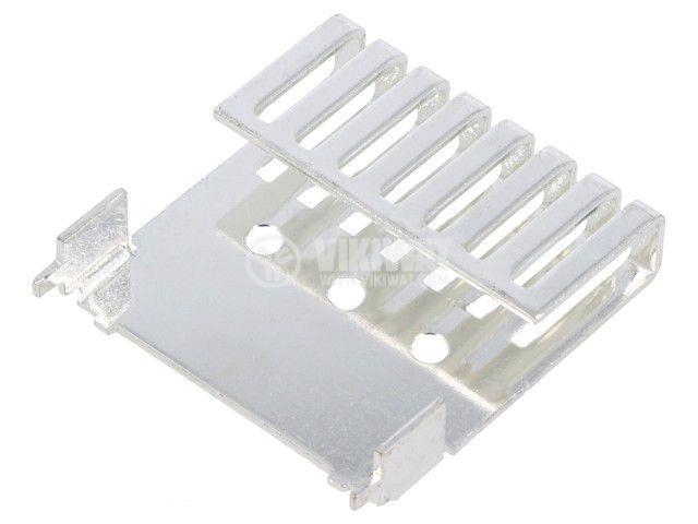 Меден радиатор ATS-PCB1061 за охлаждане, 10.2x44.5x30mm