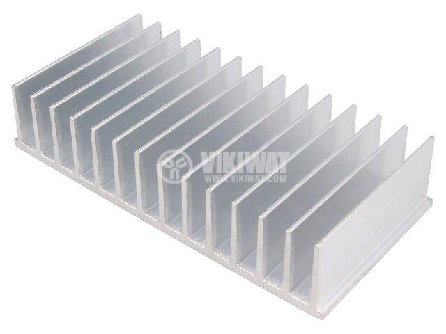 Алуминиев радиатор RAD-A4291/80 за охлаждане, 35x165x80mm