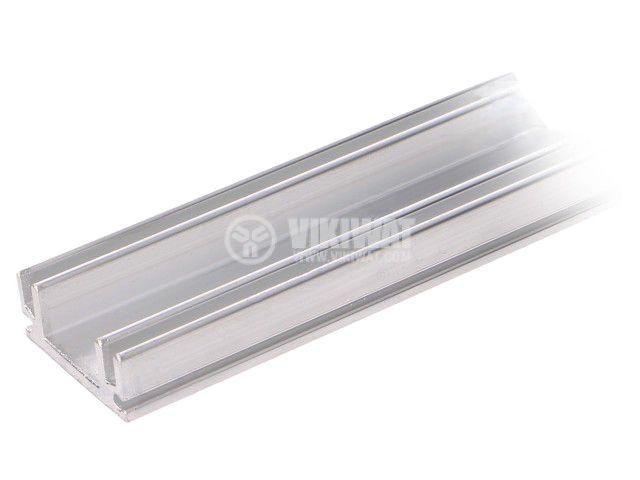 Алуминиев радиатор RAD-P22139/1200 за охлаждане, 12x30x1200mm
