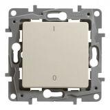 Електрически ключ за бойлер, 16A, 250VAC, за вграждане, крем, Niloe 764617, Legrand