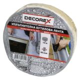 Double-sided insulating tape, butyl, 1mm x 40mm x 1m, DECOREX