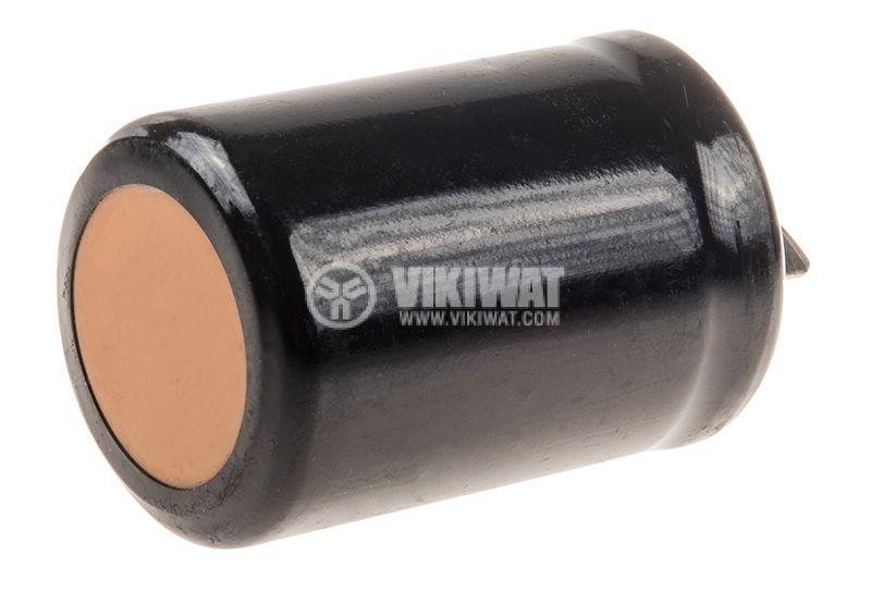 Кондензатор, пусков, 80-100uF, 280VAC, Ф35x59mm, 4 пера (9x6mm) - 3