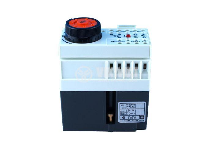 Time Relay, CA2-FR 111B, 24 VAC, 50 Hz/60 Hz, 2NO +2 NC, 500 VAC, 10 A, 0 s - 10 s - 1