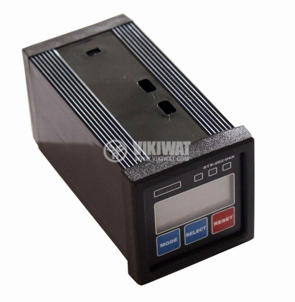 Programmable Imppulse Counter, 202-04A, 24 VDC, 6 digits, 2NO + 2NC, 5A, 250VAC