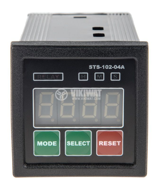 Multifunctional Time Relay, STS102-04A, 24VAC/DC, 2NO+2 NC, 250VAC, 5A, 0s - 10h - 3