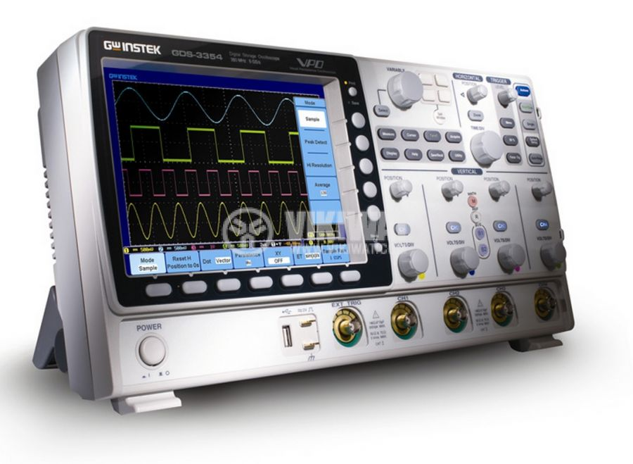 Digital Oscilloscope  GDS-3154, 150 MHz, 5 GSa/s real time, 4 channel - 1