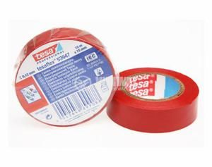 PVC Insulation Tape Roll 20m width 19mm, red