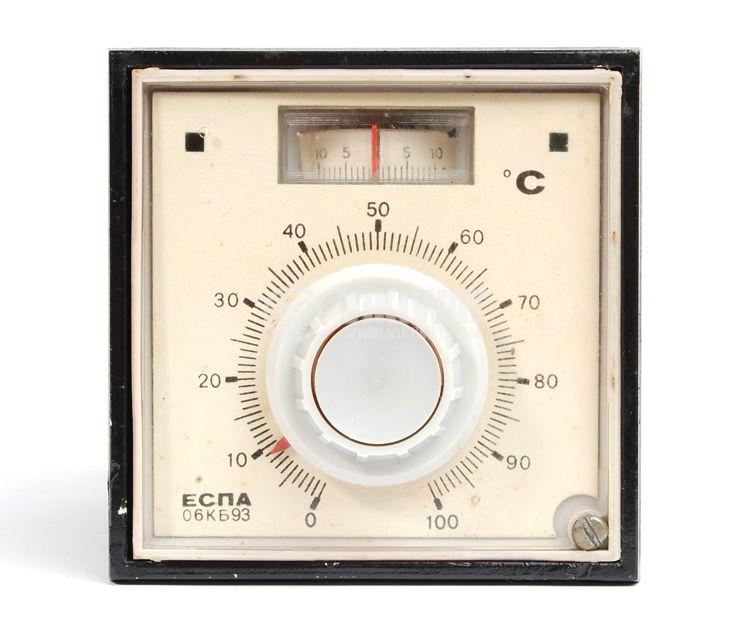 Temperature regulator, ESPA 06KB93, 220 VAC, 0 ° C to 100 ° C, a thermistor relay output - 1