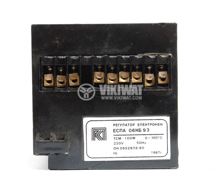 Temperature regulator, ESPA 06KB93, 220 VAC, 0 ° C to 100 ° C, a thermistor relay output - 3