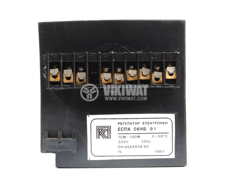 Temperature controller, ESPA 06KB91, 220 VAC, 0 ° C to 50 ° C, for RTD, two relay outputs - 3