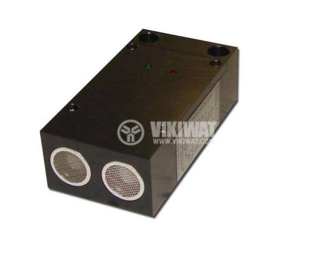 Ultrasonic Sensor, UD64AI01-1, 14-30 VDC, 1 m - 1