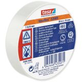 PVC electrical insulation tape 20m x 19mm white TESA 53988