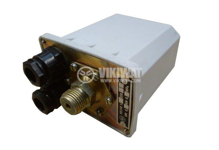 Пресостат, нерегулируем, Tlakovy VR21D, 1Mpa, 3NC, 6A/380VAC, 4A/500VAC, 10A/220VAC - 2