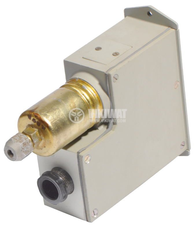 Pressure switch, adjustable, DDR 61251, 1.5 to 31 MPa, 1NO, 2.5A, 380 VAC - 2