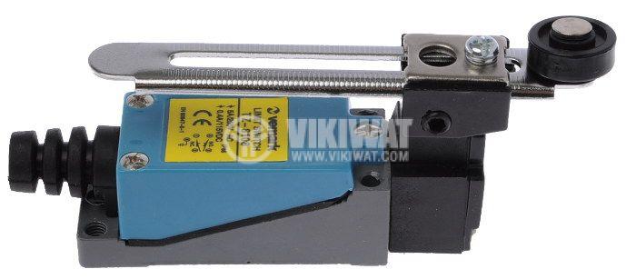Краен изключвател TZ-8108, DPST-NO+NC, 5A/250VAC, регулируема ролка - 2