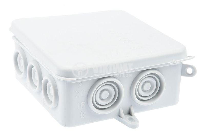 Инсталационна кутия 8130 HA, 85x85x40mm - 1