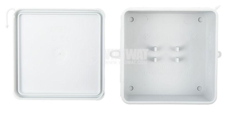 Инсталационна кутия 8130 HA, 85x85x40mm - 2