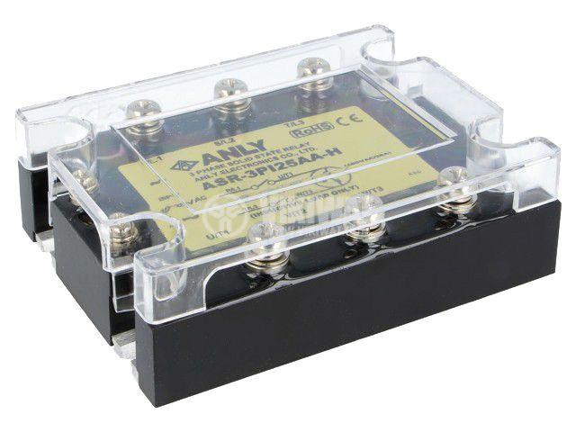 Солид стейт реле ASR-3PI25AA-H, полупроводниково, 80~280VAC, товароносимост 25A/48~480VAC
