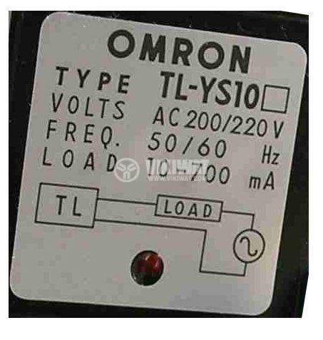 Индуктивен датчик TL-YS10, 100-110 VAC, NO, 115x40x35 mm, обхват 7.5 mm, eкраниран - 3