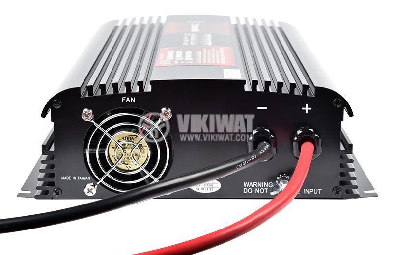 Инвертор A301-1200-24, 24VDC-220VAC, 1200W, модифицирана синусоида - 5