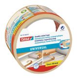 Universal double-sided ahesive tape, polyurethane, 50mm x 5m, TESA 56170