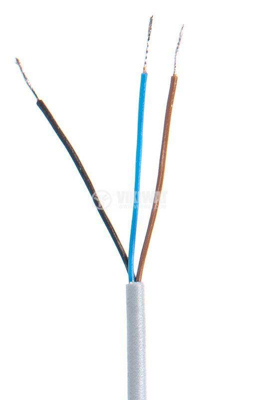 Оптичен датчик дифузен ODD12P111L PNP NO M12x67mm 10-30VDC обхват 200mm месинг - 4