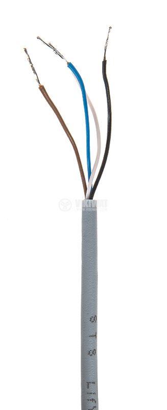 Оптичен датчик, дифузен ODD18P311L M18x78mm, PNP NO+NC 10-30VDC обхват 300mm месинг - 4
