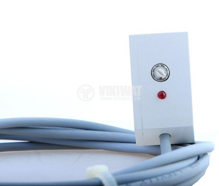Optoelectronic Switch ODD50N311L1 NPN NO + NC 65x46x22mm diffuse 10-30VDC range 500mm aluminum - 2
