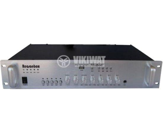 Усилвател 100V, за таванни говорители, RX-20240, 240W, USB - 1