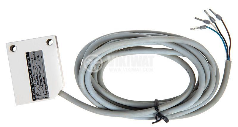 Оптичен датчик, ODM53P311L1, 10-30VDC, маркерен, PNP, NO+NC, обхват 20mm - 2