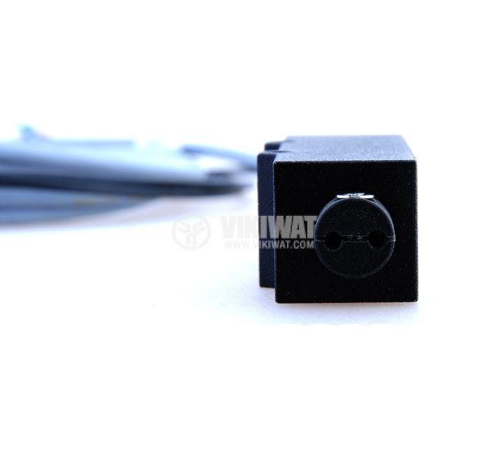Оптичен датчик бариерен с оптични влакна ODFB54N311L NPN NO+NC  78x22x20mm 10-30VDC обхват 100mm алуминий - 3