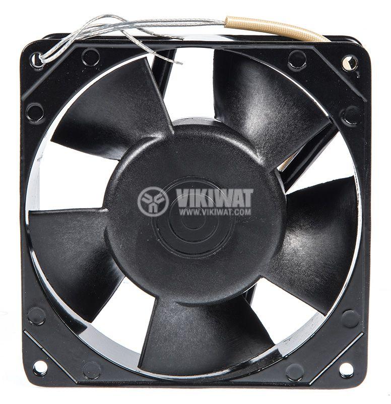 Fan, 220VAC, 120x120x38mm, with bearing, 150m3 / h, BA12 / 2-T - 3