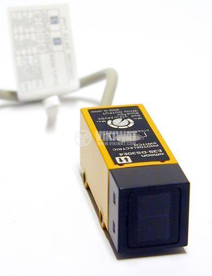 Optoelectrinic Switch NO, E3S-DS30 E4, diffuse, 12-24 VDC, range 0-300 mm - 1
