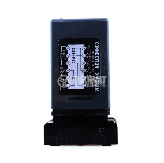 Optical Sensor Controller S3S-P10, 110 VAC (220 VAC), 12 pins - 5